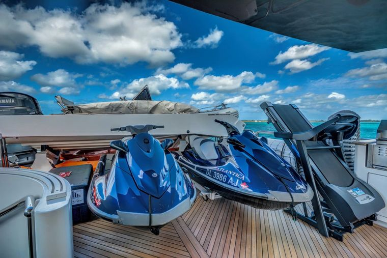 NEVER ENOUGH Yacht Charter - Tender & Toys