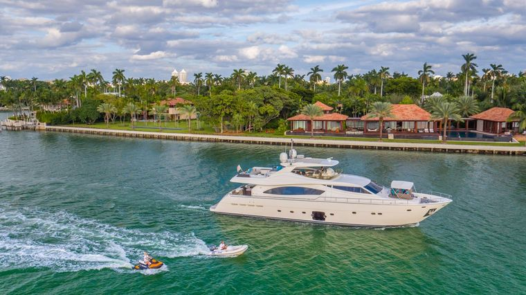 CINQUE MARE Yacht Charter - Running Vessel with Jet Ski and Tender