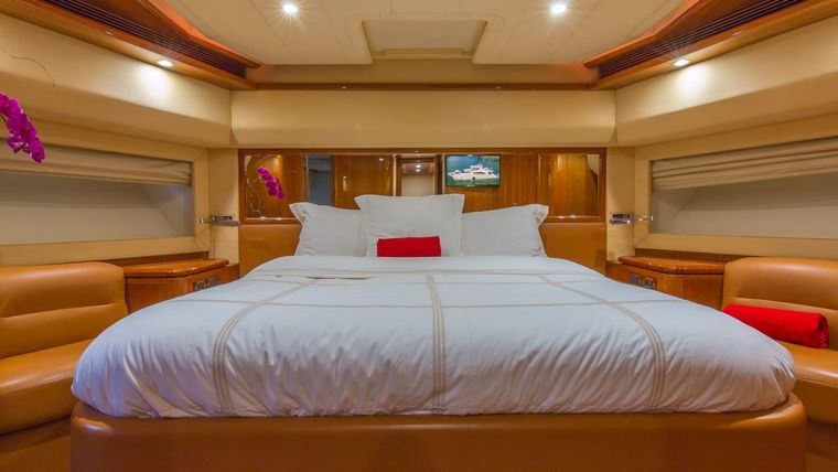 CINQUE MARE Yacht Charter - Queen Guest Cabin