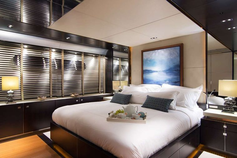 KAMBOS BLUE Yacht Charter - Master Suite