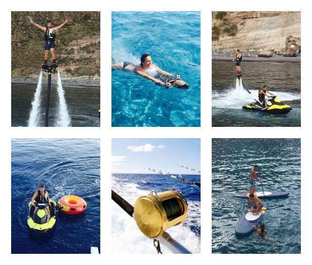 SUMMERTIME Yacht Charter - Jet-ski, fly board and more....!