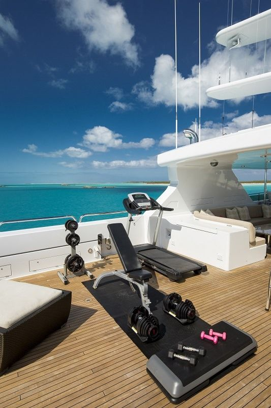 REMEMBER WHEN Yacht Charter - Exercise Equipment