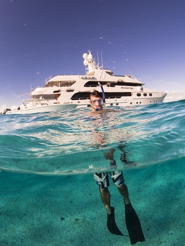 REMEMBER WHEN Yacht Charter - Snorkeling