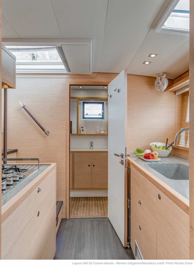 DADDY'S HOBBY Yacht Charter - Spacious Galley