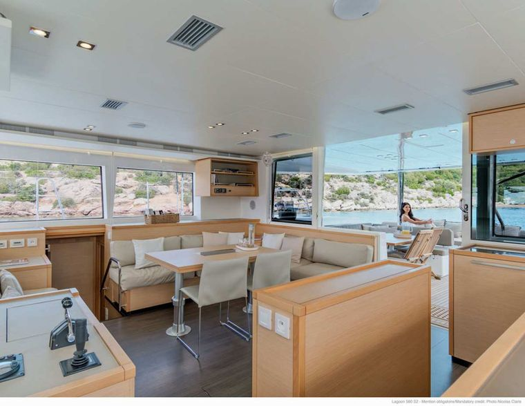 DADDY'S HOBBY Yacht Charter - Spacious Interiors