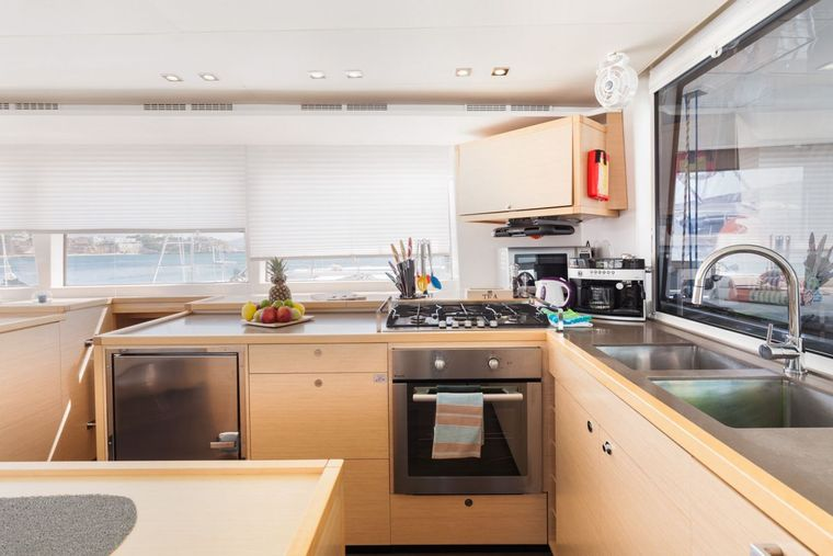 DADDY'S HOBBY Yacht Charter - Beautiful Galley