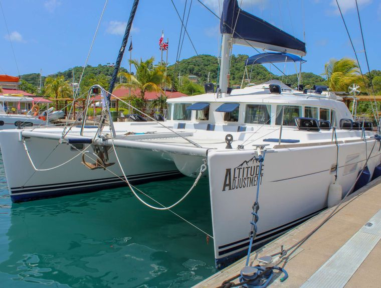ALTITUDE ADJUSTMENT Yacht Charter - Altitude Adjustment ready to greet you!