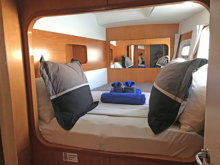 ALTITUDE ADJUSTMENT Yacht Charter - Guest Room 3