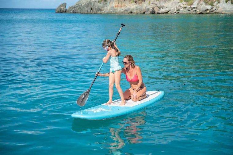 SEAHOME Yacht Charter - SUP - one of Many Water Toys