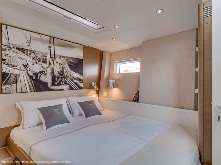 J SIX Yacht Charter - Portside cabin with double bed