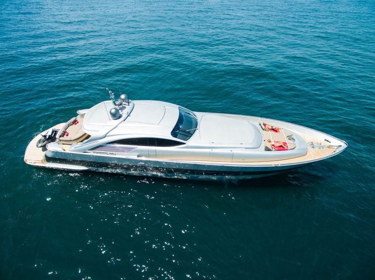 CINQUE Yacht Charter - Ritzy Charters