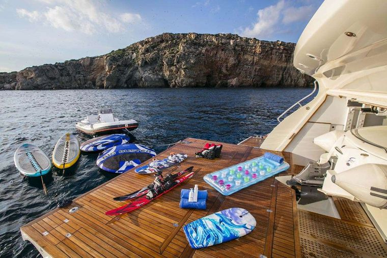 RINI Yacht Charter - Water toys