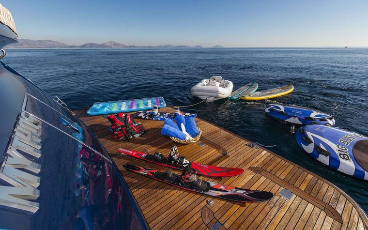 MYTHOS Yacht Charter - Water toys