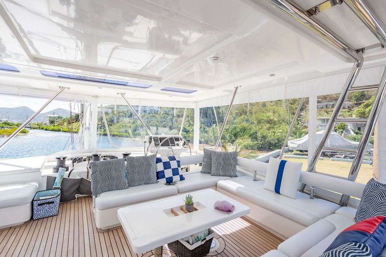 THE ANNEX Yacht Charter - Super view from the flybridge