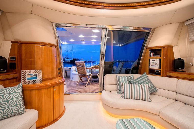 MANU Yacht Charter - Saloon other view