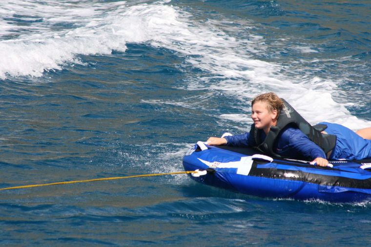 ECLIPSE Yacht Charter - tubing