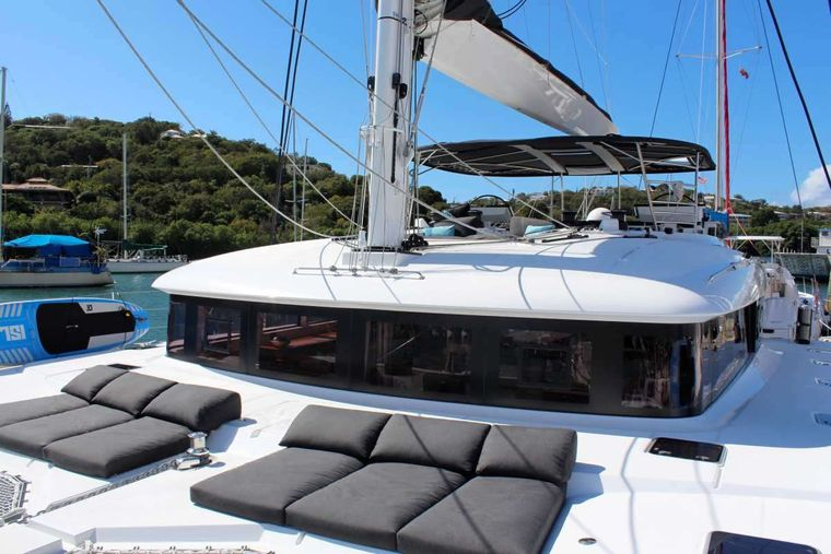 ECLIPSE Yacht Charter - Fore deck perfect for sunning