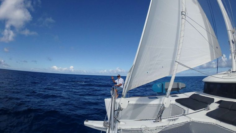 ECLIPSE Yacht Charter - sailing in the BVI