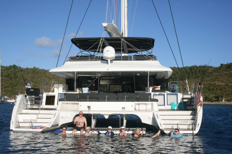 ECLIPSE Yacht Charter - easy water access