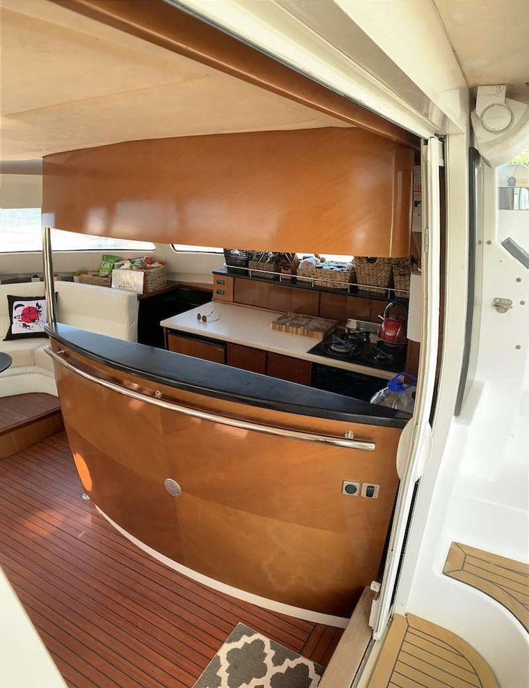 VIVO Yacht Charter - Galley