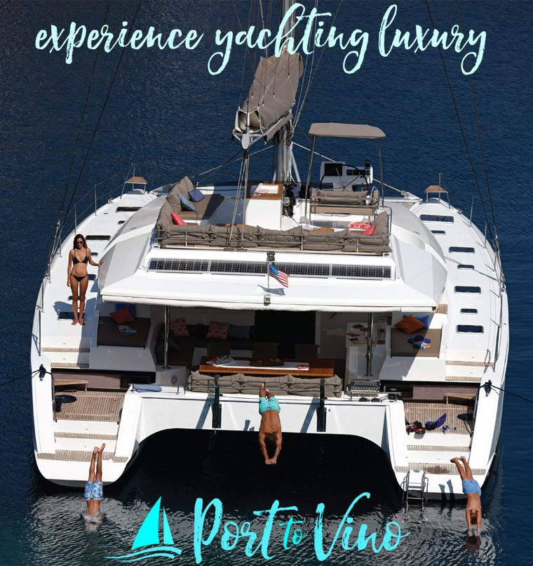 PORT TO VINO Yacht Charter - Ritzy Charters