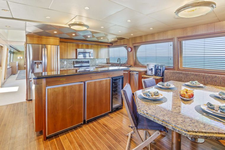 IL CAPO Yacht Charter - Country Kitchen