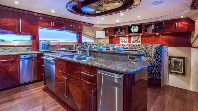CEDAR ISLAND Yacht Charter - Country Kitchen