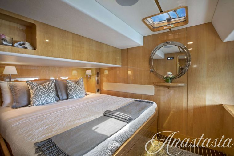 ANASTASIA Yacht Charter - Guest Stateroom