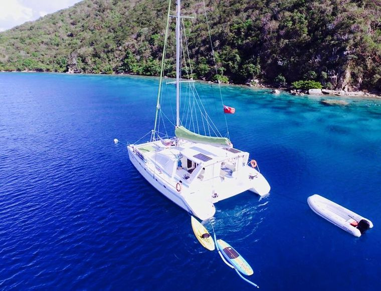 FREE INGWE Yacht Charter - Birds Eye View
