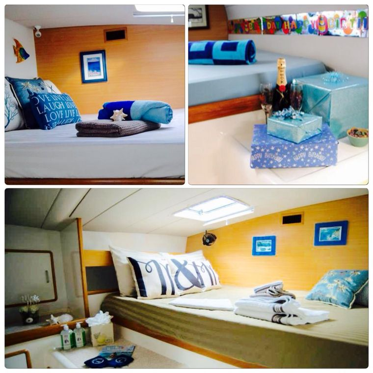 FREE INGWE Yacht Charter - Guest Queen Cabin 2