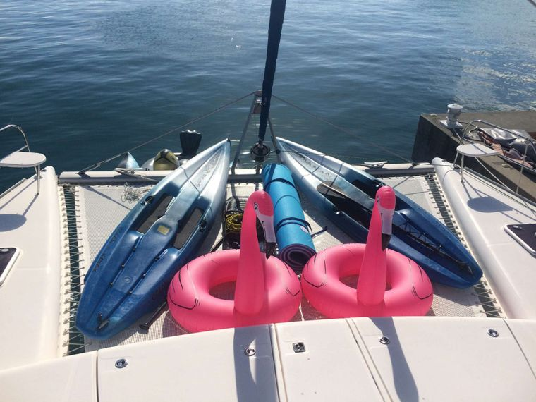 DEEPBLUE Yacht Charter - Water toys