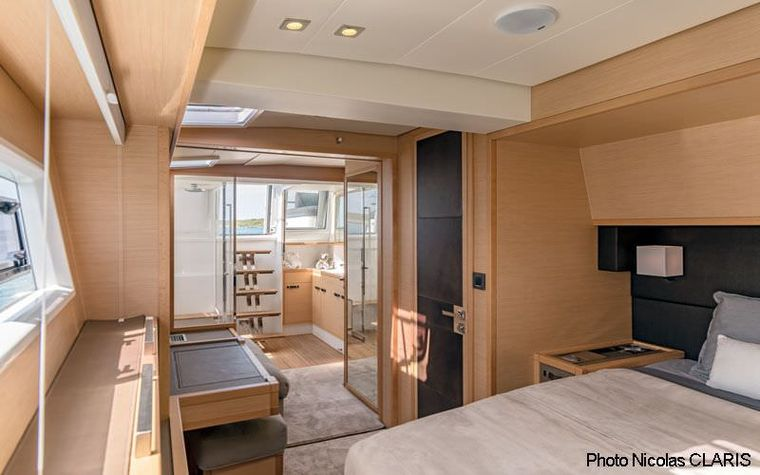 CUTE LITTLE CAT Yacht Charter - The master cabin - sistership