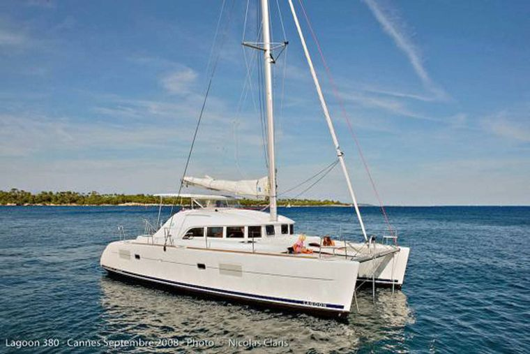 HARMONY Yacht Charter - Anchoring in Calm Waters