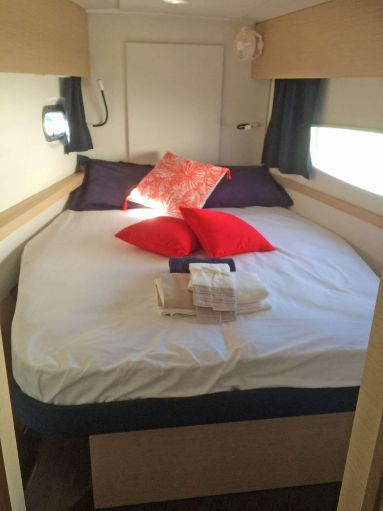HARMONY Yacht Charter - Guest Cabin 2