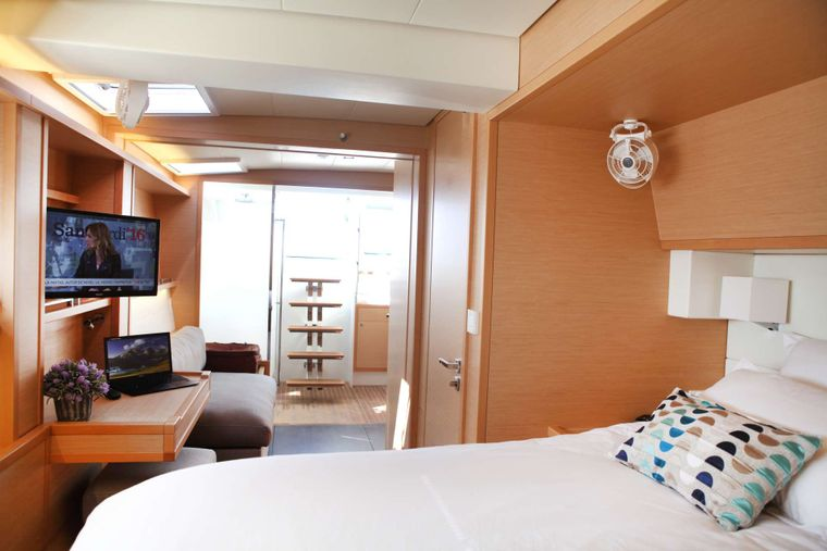 LADY M Yacht Charter - Primary Suite