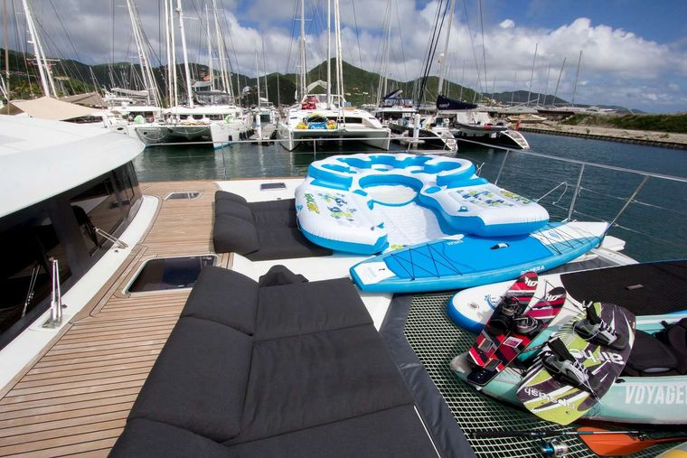 JAN'S FELION Yacht Charter - Loaded with watersports