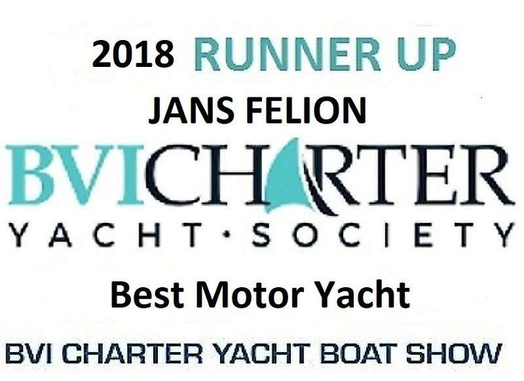 JAN'S FELION Yacht Charter - 2018 Best Motor Yacht - Runner Up