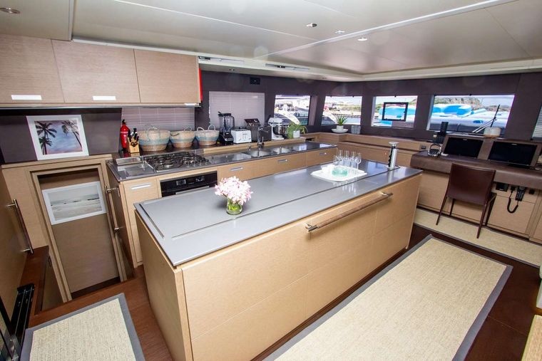 JAN'S FELION Yacht Charter - The Galley