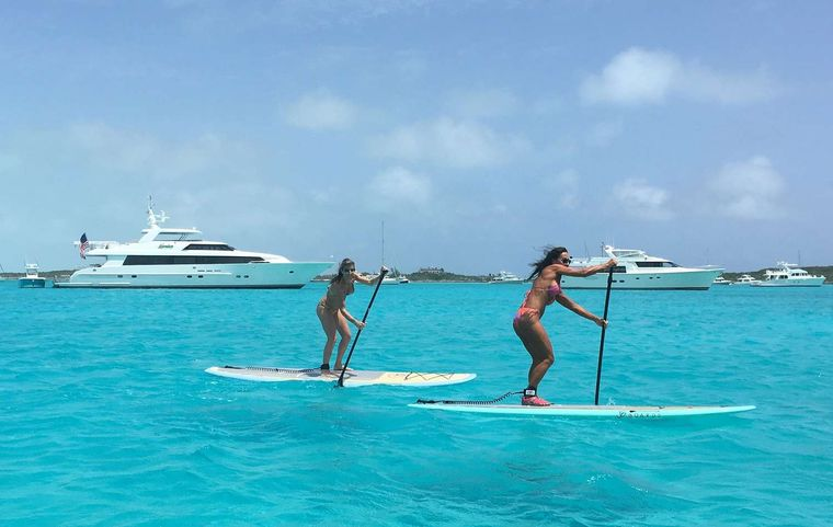 LEGENDARY Yacht Charter - Paddle Boards