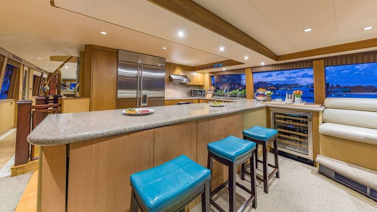 LEGENDARY Yacht Charter - Country Kitchen