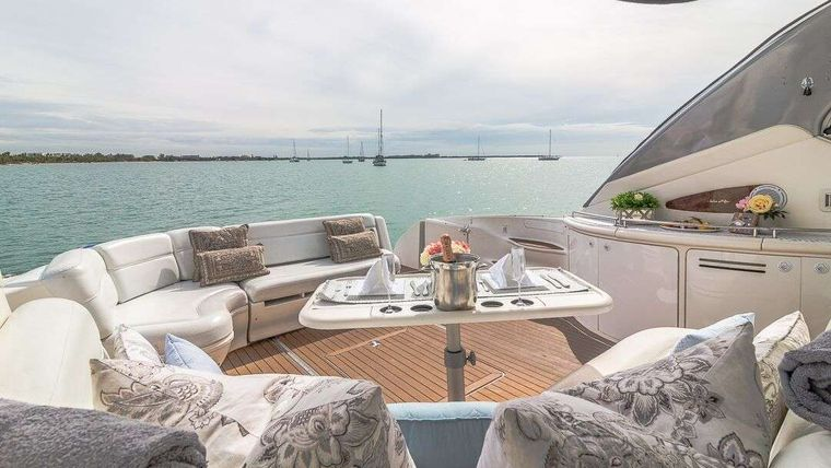 WHY NOT Yacht Charter - Front Sunpad