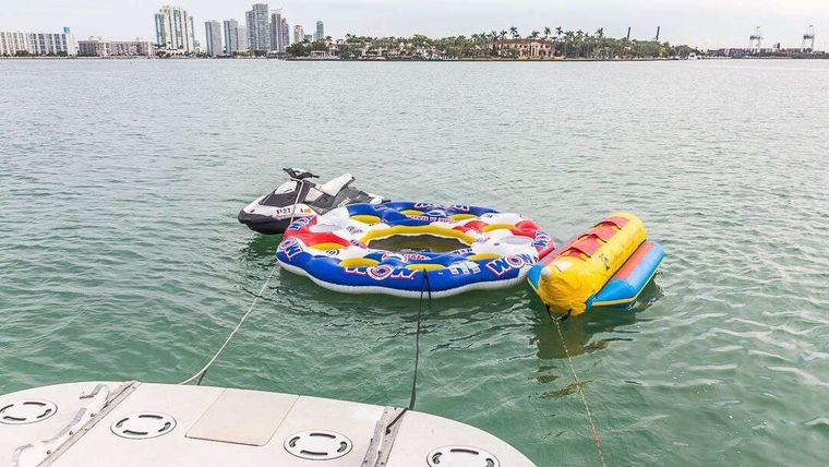 WHY NOT Yacht Charter - Water Toys
