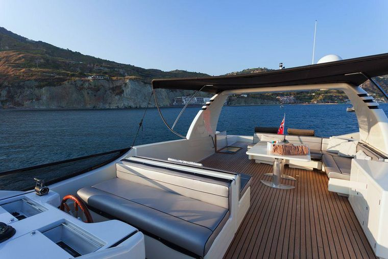 WHITEHAVEN Yacht Charter - top deck