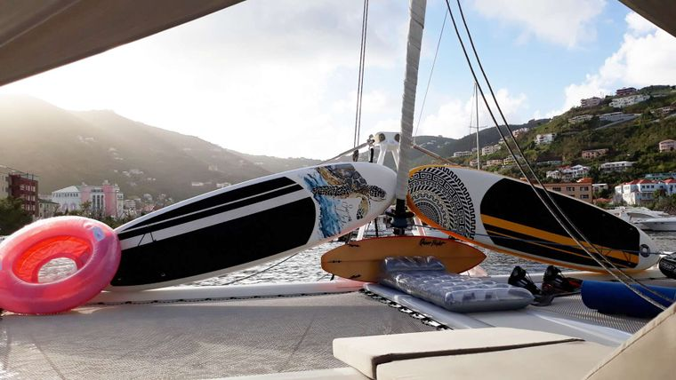 LAYSAN Yacht Charter - Lots of Water Toys