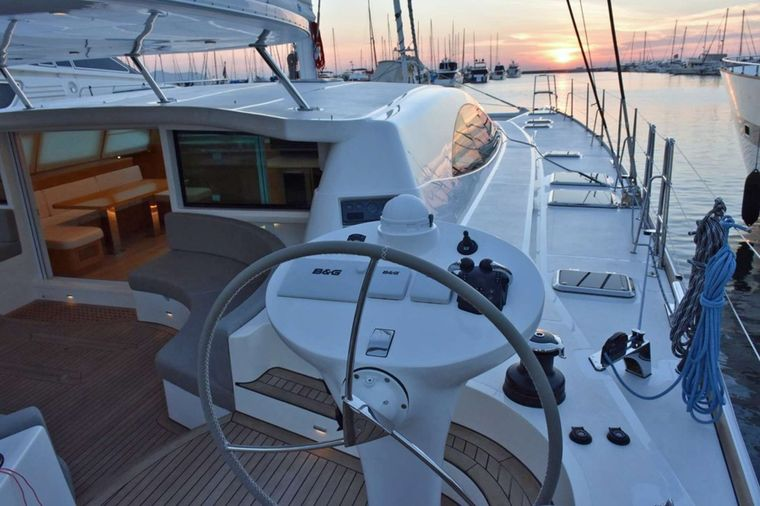 LAYSAN Yacht Charter - View from the Helm