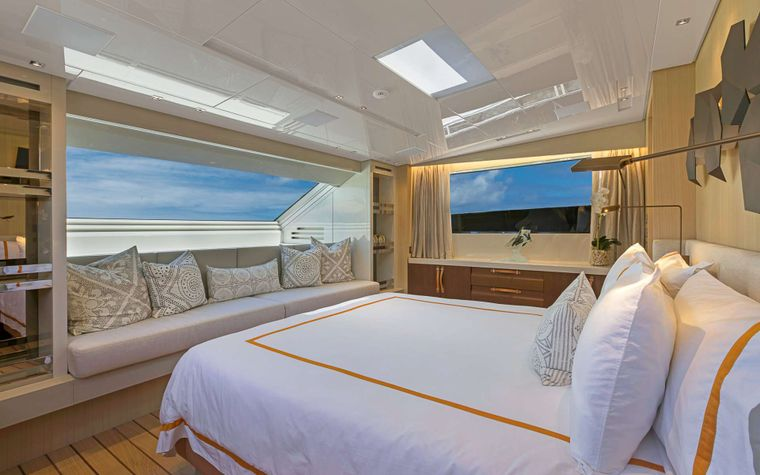 FREDDY Yacht Charter - Master Suite