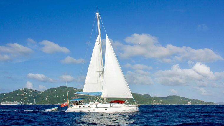 NEMO SY Yacht Charter - Cruising in clear blue waters