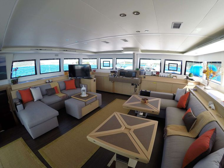 BAGHEERA L620 Yacht Charter - Great space to watch a movie