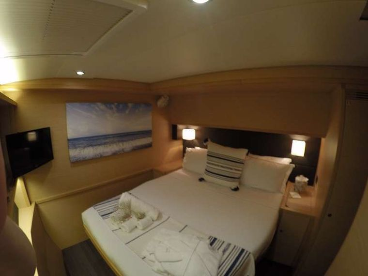 BAGHEERA L620 Yacht Charter - All cabins have Smart TV's.