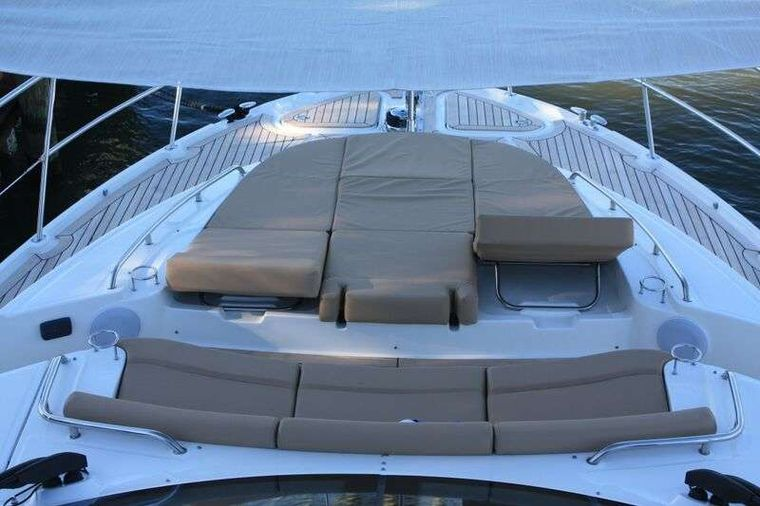 INCOGNITO  62 Yacht Charter - Foredeck